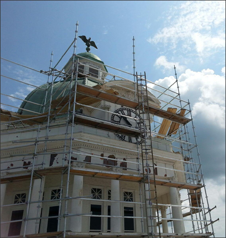 Commercial Scaffolding Rental Systems Mississippi
