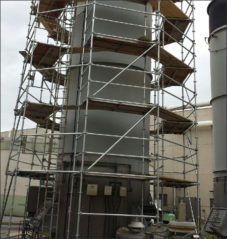Industrial Scaffolding Rental Systems Mississippi