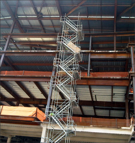 Stair Tower Scaffolding Rental Systems Mississippi