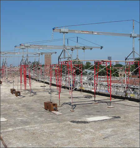 Suspended Scaffolding Rental Systems Mississippi